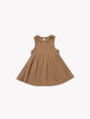 Ribbed Tank Dress | Copper