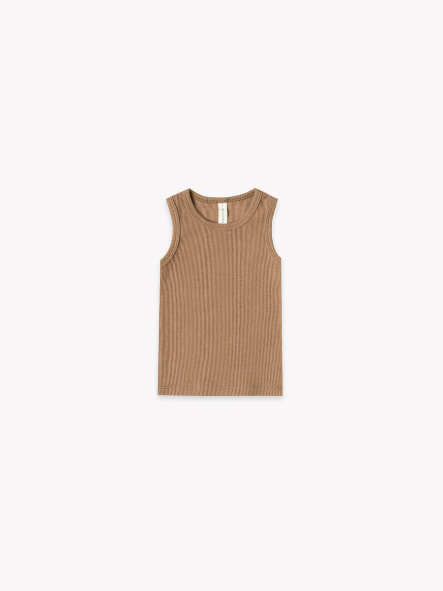 Ribbed Baby Tank | Copper