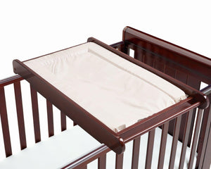 Babymore Cot Top Changer - Brown - The Stork Has Landed