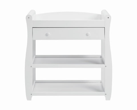 Image of Babymore Sleigh Changer - White - The Stork Has Landed