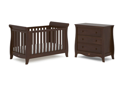 Boori Sleigh Expandable 2 Piece Set - Coffee - The Stork Has Landed