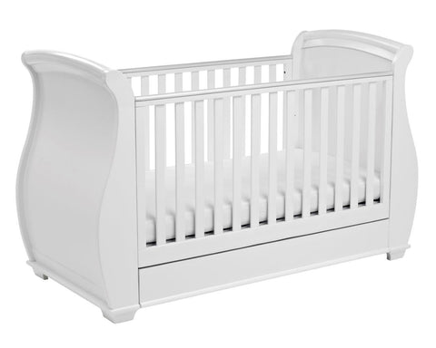 Babymore Bel 3 Piece Nursery Set - White - The Stork Has Landed