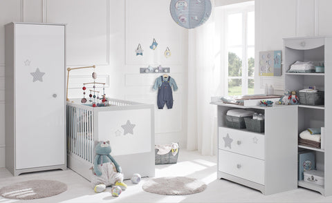 Galipette Sweet Nights 2 Piece Set (70x140cm) - The Stork Has Landed