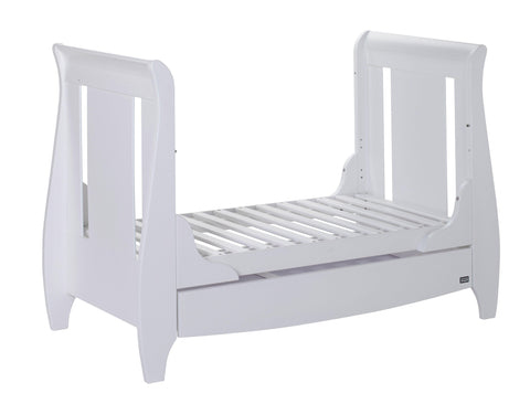 Tutti Bambini - Lucas White 3 Piece Set with Sprung Mattress - The Stork Has Landed