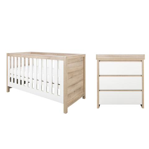 Tutti Bambini - Modena Oak 2 Piece Set - The Stork Has Landed