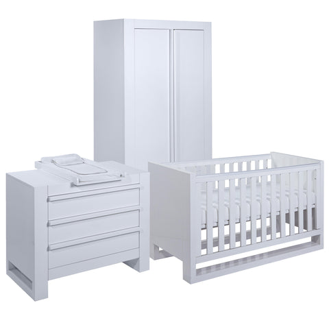 Tutti Bambini - Rimini 3 Piece Room Set with Sprung Mattress - The Stork Has Landed