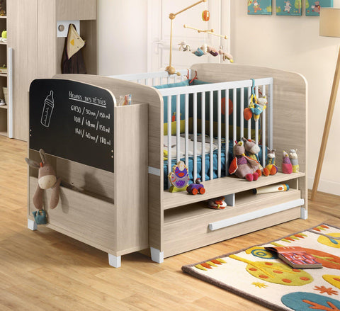 Galipette Alpa Cot Bed - The Stork Has Landed