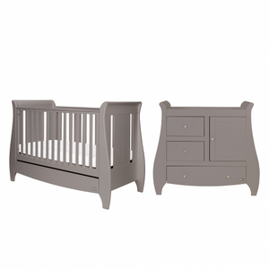 Tutti Bambini Katie 3 Piece Set, Grey - The Stork Has Landed