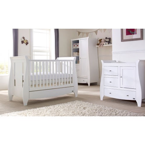 Tutti Bambini - Lucas White 3 Piece Set - The Stork Has Landed