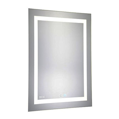 24x30 Aquadom 2018 Daytona LED mirrors are fully redesigned to make your bathroom the most exciting room in your home! New Cool and Warm Light Touch switch.Defogger Dimmer and Clock