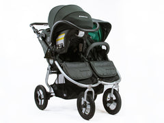 Bumbleride Indie Twin With Single Maxi Cosi Infant Seat and Adapter