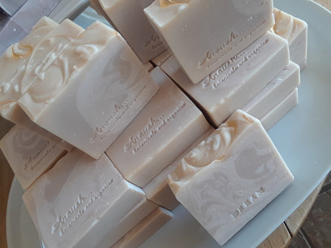 Anoush botanicals and organics Spa Soap Dream Bars