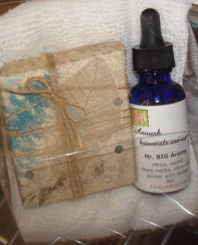 z gift set ~ cologne and soap