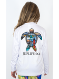 Youth JupLife 561 Turtle UPF 50+ Performance Tee