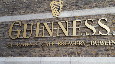 Touring the Guinness Factory in Dublin