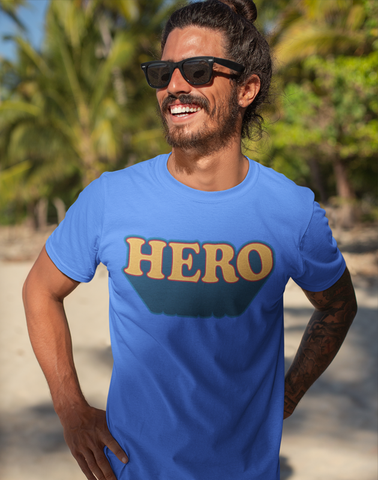 Virgin Teez T-SHIRT Hero T-shirt