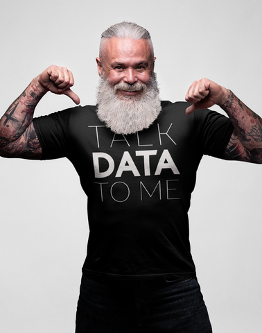 Virgin Teez T-SHIRT Talk Data To Me T-shirt
