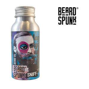 Beard Spunk ® SANDALWOOD Premium Beard & Moustache Oil 50ml. Beard Spunk Beard Oil & Moustache Grooming Kits