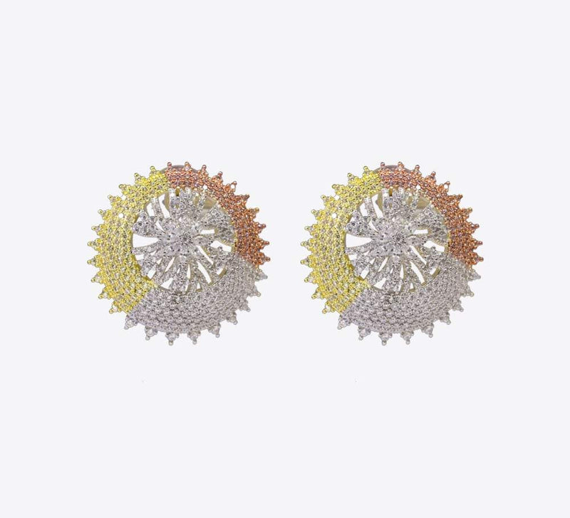Stud Earrings - Traditional Stud Earrings in Pakistan - Mahroze