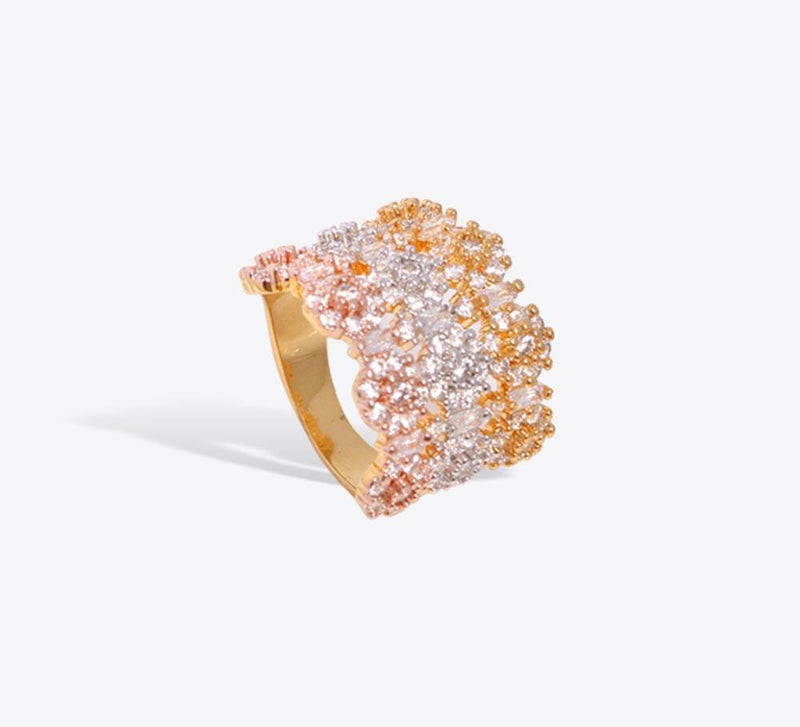 Pave Rings, Buy Pave Rings of Different Design Online - Mahroze