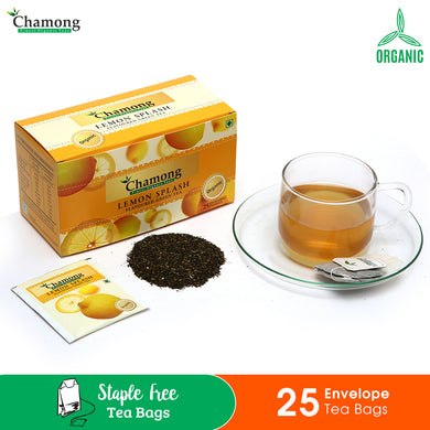 Lemon Splash Envelope Tea Bags - 25