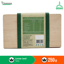 Premium Green Loose Leaf Tea in Pinewood Chestlet 250g