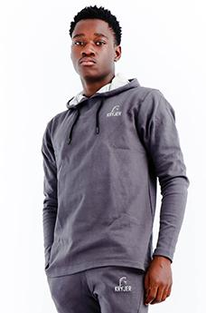 Signature Hoodie Men Grey