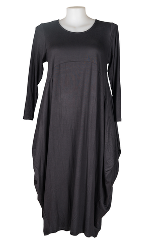 Sally Dress Long sleeves Black