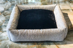 Large Imperial Crystal Dog Bed
