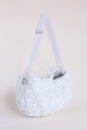 Victorian Luxury Sling - White