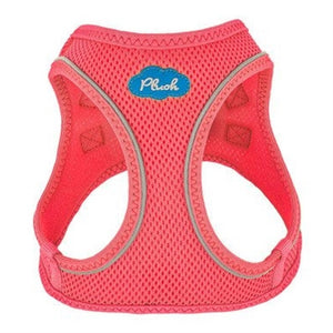 Bubblegum Pink Plush Step In Vest Air-Mesh Harness