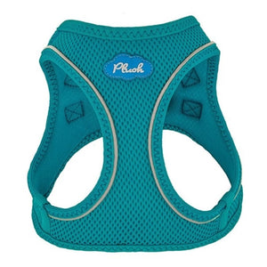 Horizon Blue Plush Step In Vest Air-Mesh Harness