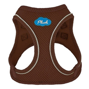 Toffee Plush Step In Vest Air-Mesh Harness