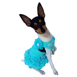 Seafoam Garden Party Tutu Dress