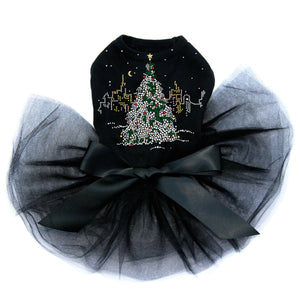 Christmas Tree in the City - Black Tutu