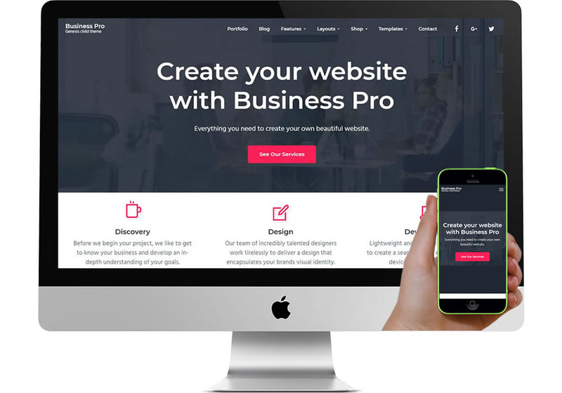 Business Pro WordPress Website