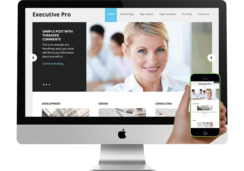 Executive Pro WordPress Website