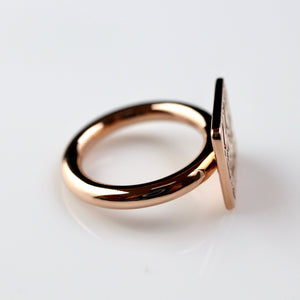 Ring of Priest Sienamun - Gold-Plated