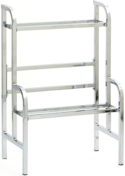 24 Chrome Bulk Vending Rack - Gumball Machine Warehouse