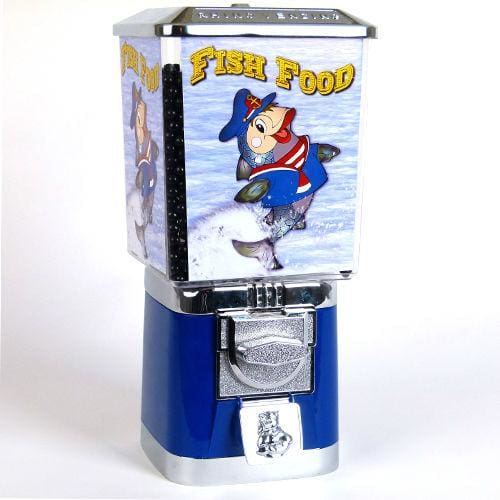 Coin Operated Fish Food Dispenser - Gumball Machine Warehouse