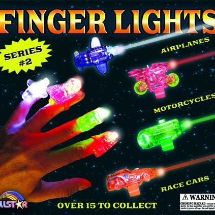 Finger Lights Vending Toys In 2 Inch Toy Capsules - Gumball Machine Warehouse