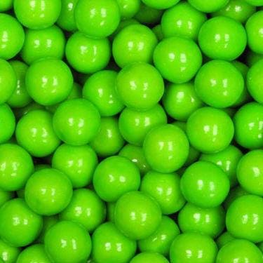 Green Apple Gumballs (1080 Count) - Gumball Machine Warehouse
