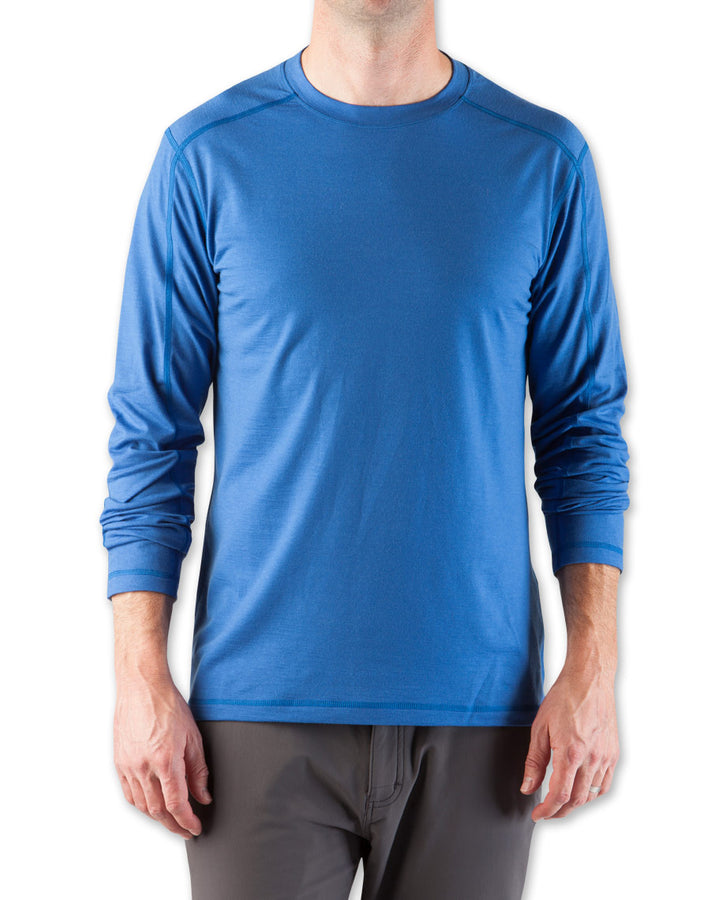 Men's Basis Stretch Merino Crew LS - 2014