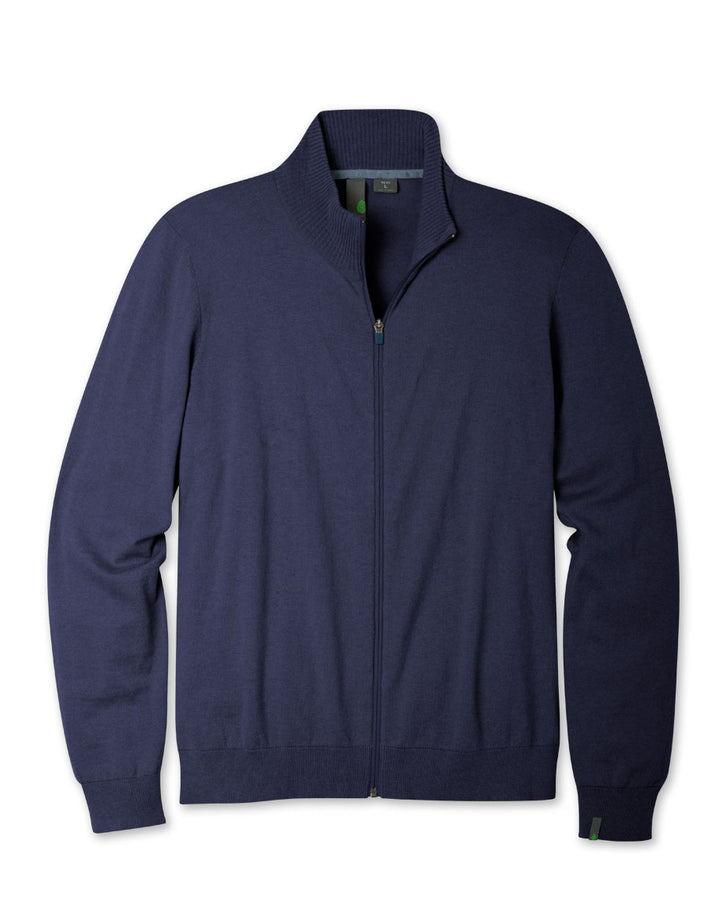 Men's Synthis Full Zip Sweater