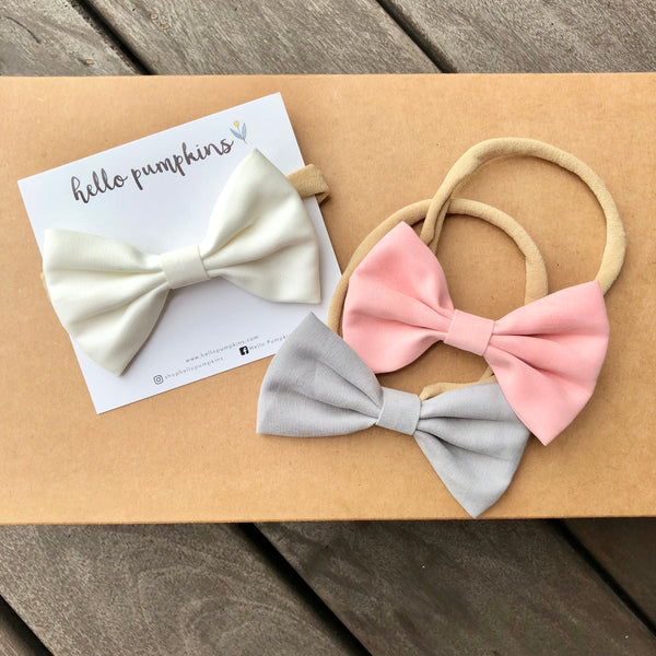 Classic Bow - White (Backorder)