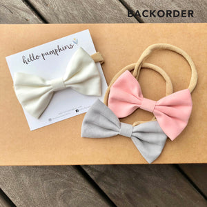 Classic Bow - Pastel Set (Backorder)