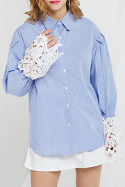 Maroa Lace Cuffs Shirt