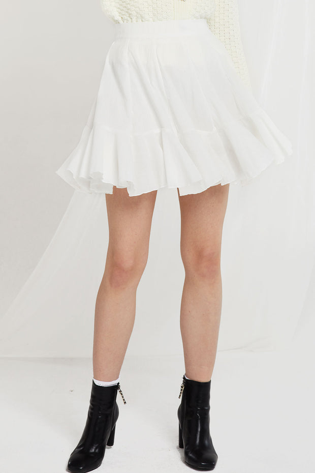 Isla Floaty Ruffle Skirt