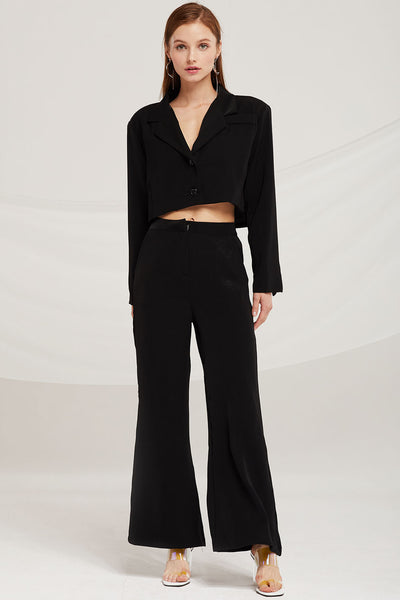 Scarlett 2 Piece Crop Jacket Suit Set by STORETS