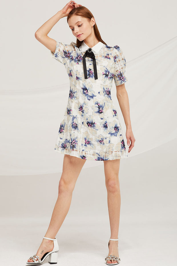 Madison Floral Organza Dress